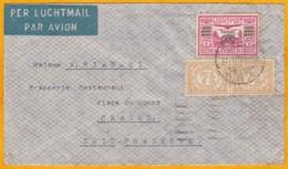 1934 - Enveloppe Par Avion De Bandung, Java, Indes Néerlandaises Vers Grasse, France Via Marseille - Nederlands-Indië