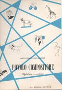 """07125 """"PICCOLO COMPOSITORE-ALFABETIERE CON CUSTODIA- MARIO COMASSI-LINO MONCHIERI-SCRITTORI""""  ORIGINALE. - Vecchi Documenti"""