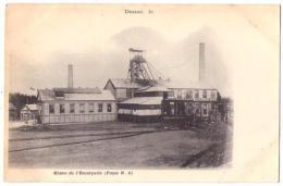 (59) 326, Douai, Mines De L'Escarpelle (Fosse N° 6), Dos Non Divisé - Douai