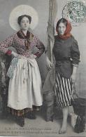 Dame De Halle Et Marchande De Crevettes  ** Belle Cpa 1907 **   (prix Sympa) - Boulogne Sur Mer