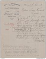 59 4000 BUSIGNY NORD 1913 Vins Spiritueux DRUON FILS Commerce De Houblons - 1900 – 1949
