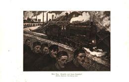 über Tag (nach Einem Gemälde Von Hans Baluschet)   / Druck, Entnommen Aus Zeitschrift /1924 - Books, Magazines, Comics