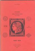 1985 - POTHION -  France Oblitérations (Sans Paris) 1849-1876 - 71 Pages - La Poste Aux Lettres, Paris - Oblitérations