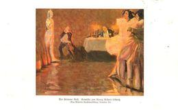 Der Steinerne Gast (nach Einem Gemälde Von Georg Ricter-Lötznitz)    / Druck, Entnommen Aus Zeitschrift /1924 - Books, Magazines, Comics