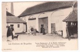 Les Environs De Bruxelles - Ferme Restaurant A La Belle Alliance ( Avec Verso ) - Rhode-St-Genèse - St-Genesius-Rode