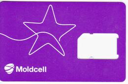 Moldova ,  Moldavie , Moldau ,  SIM Phonecard - Moldcell , Used - Moldavie