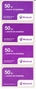 Moldova ,  Moldavie , Prepaid Phonecard - Moldcell , 50 Lei , Set , Tipe 1 A ,B,C, D , Paper , Used - Moldova