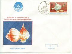 PAKISTAN  -   1997 Medicinal Plants   FDC2954 - Pakistan