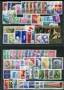 DDR **,*, Ob Année 1973  Presque Complète - Stamps