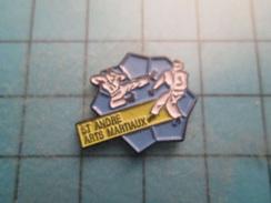 Pin510a Pin's Pins / Beau Et Rare : ST ANDRE SUR ORNE CALVADOS CLUB KARATE JUDO ARTS MARTIAUX - Judo