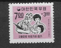 1967 MNH South Korea, Vietnam, Postfris - Corée Du Sud