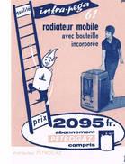 BUVARD Petrogaz Infra Pega Radiateur Mobile Nombre 8 - Electricity & Gas
