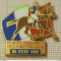 PRIX DU PRESIDENT DE LA REPUBLIQUE  20 JUIN 1992  PMU COURSES HIPPIQUES En Qualité  ARTHUS - Games