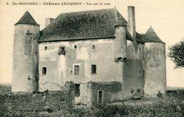 SAINTE MAGNANCE - Château JACQUOT Vue Sur La Cour - Autres Communes