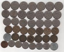 Tchécoslovaquie - Lot De 69 Monnaies Différentes Années -  D/502 - Czechoslovakia