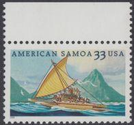 !a! USA Sc# 3389 MNH SINGLE W/ Top Margin - American Samoa - Stati Uniti