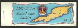 ANGUILLA 1977 SILVER JUBILEE OMNIBUS BOOKLET MNH - Anguilla (1968-...)