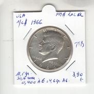 USA. Half Dollar, 1/2 $ 1966. KM #202a. TTB - Federal Issues