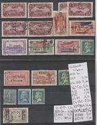TIMBRE DE GRAND-LIBAN OBLITEREES * / (*)  + PA Nr VOIR SUR PAPIER AVEC TIMBRES  COTE  70.10€ - Grand Liban (1924-1945)