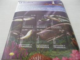 Dominica Marine Life Fish Whales - Dominica (1978-...)