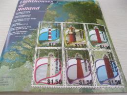 GRENADA CARRAICOU & PETITE MARTINIQUE  Lighthouses Of Holland - Grenada (1974-...)