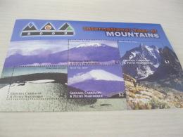 GRENADA CARRAICOU & PETITE MARTINIQUE  International Year Of Mountains - Grenada (1974-...)