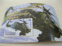 GRENADA CARRAICOU & PETITE MARTINIQUE  2007  Helicopters - Grenada (1974-...)