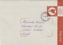 GOOD ESTONIA Postal Cover With Original Stamp 2011 With Tallinn Pelguranna Cancel - Estonie