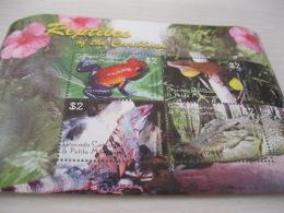 GRENADA CARRAICOU & PETITE MARTINIQUE Reptiles - Grenada (1974-...)
