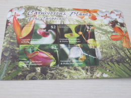 GRENADA CARRAICOU & PETITE MARTINIQUE Carnivorous  Plant - Grenada (1974-...)