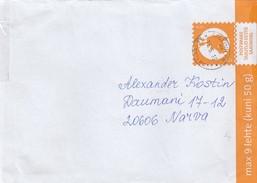 GOOD ESTONIA Postal Cover With Original Stamp 2016 With Tallinn Cancel - Estonie