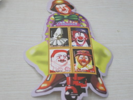 Gambia Circus Clown Odd Shape - Gambia (1965-...)