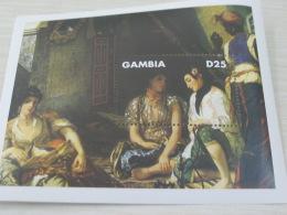 Gambia Art Painting Delacroix - Gambia (1965-...)