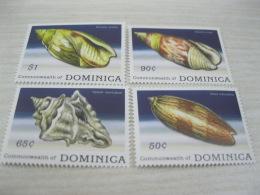 Dominica Fish Marine Life Shell - Dominica (1978-...)