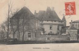 16 BARBEZIEUX      Le Château   PLAN 1909   PAS COURANT   …Mention Hôpital - France
