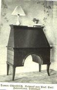 Damen-Schreibtisch (Entwurf Von Prof.Emil Fahrenkamp)  /Druck Aus Zeitschrift /1924 - Books, Magazines, Comics