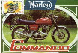 Norton Commando 750   -  Carte Postale/Maxi Carte (France) - Motorräder