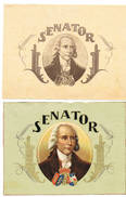 SIGAREN Senator 2 Afbeeldingen (enkel Prentjes) - Tabak (verwante Voorwerpen)