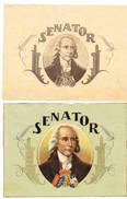 SIGAREN Senator 2 Afbeeldingen (enkel Prentjes) - Tabac (objets Liés)