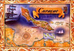 ANTILHAS HOLANDESAS, MAPA DE CURAÇAO  [12634] - Antille Neerlandesi