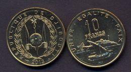 Djibouti 10 Franc 2013 UNC SHIP - Djibouti