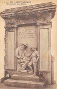 CPA 63 ST SAUVES MONUMENT AUX MORTS - Andere Gemeenten