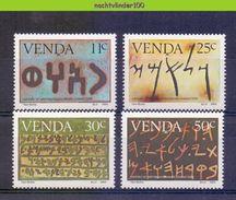 Ncf103 GESCHIEDENIS VAN HET SCHRIFT HISTROY OF WRITING LANGUAGE SIGNS VENDA 1985 PF/MNH - Talen
