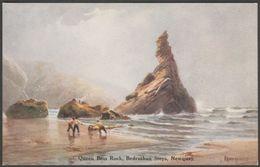 Charles Hannaford - Queen Bess Rock, Bedruthan Steps, Cornwall, C.1920 - ETW Dennis Postcard - England