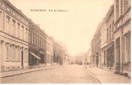 Mouscron - Moeskroen - CPA - Rue De La Station - Moeskroen