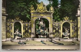 L15F445 - Nancy - Place Stanislas - Fontaine De Neptune - Editions Du Globe N°6 - Nancy