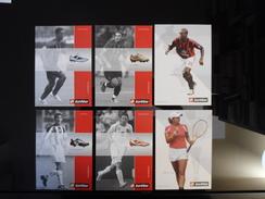 Lotto Sport Lot De 6 Cartes Postales - Advertising