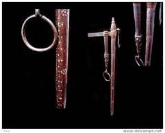 Balance De Marchand Birman XIXème / Old Burmese Merchant Collector's Wooden Scale - Tools