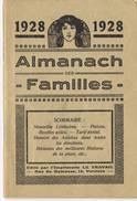 Almanach Des Familles 1928 - Livres, BD, Revues