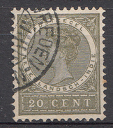 Indes Néerlandaises 1903 Nvph.nr.: 53 Koningin Wilhelmina Oblitérés /Used / Gestempeld - Niederländisch-Indien
